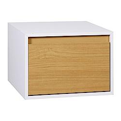 魔術方塊一抽櫃收納櫃(原木色/胡桃色任選)