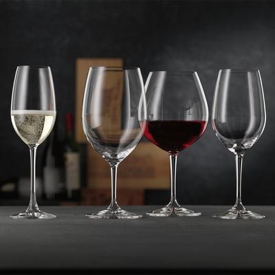 【Nachtmann】維維諾-經典酒杯(香檳杯/紅酒杯/白酒杯)-4入ViVino