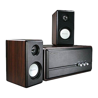 KINYO精緻木質擴大音箱CRF-5670