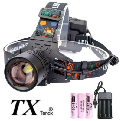 TX特林XP70 LED伸縮變焦超級強亮頭燈(HD-2020H-P70)