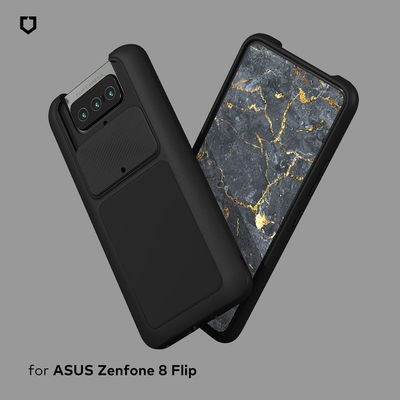 犀牛盾 ASUS Zenfone 8 Flip SolidSuit防摔背蓋手機殼-經典款
