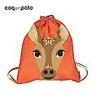 【COQENPATE】法國有機棉無毒環保布包 - 童趣輕鬆包- 鹿