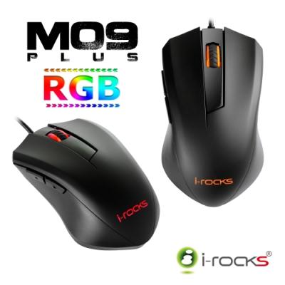 [RGB電競滑鼠] M09 RGB最高5000DPI 遊戲光學滑鼠