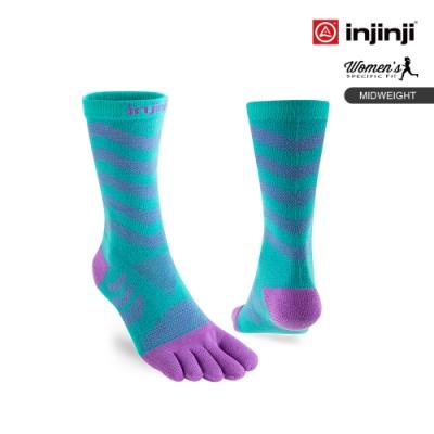 Ultra Run 終極系列女款五趾中筒襪[蘭花紫]
