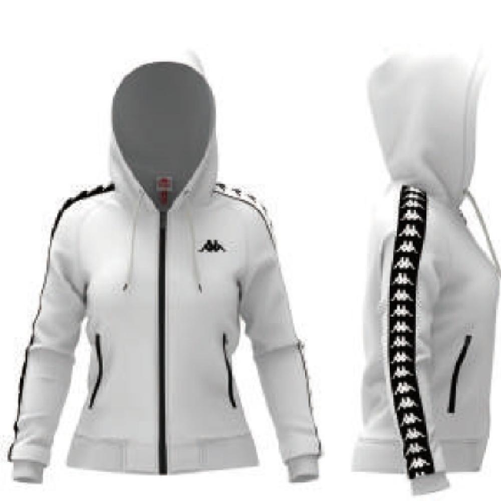 KAPPA義大利 222BANDA女針織運動外套合身版 白303R5J0A65