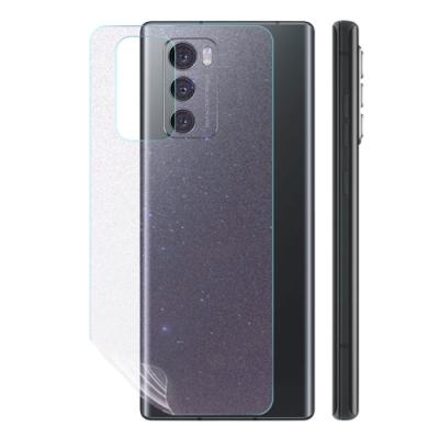 o-one大螢膜PRO LG Wing 5G  滿版全膠手機背面保護貼 手機保護貼