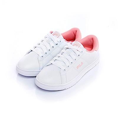 FILA #水果蘇打 女款潮流復古綁帶鞋-桃紅 5-C604S-500