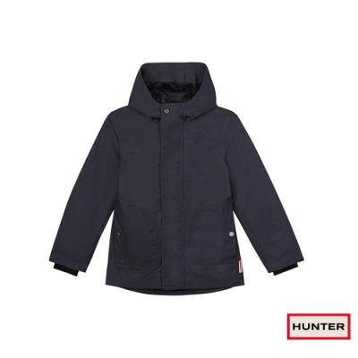 HUNTER - 小童-棉質連帽外套 - 海軍藍