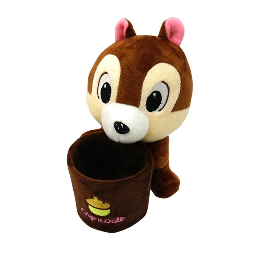 [收納皇后] 迪士尼毛絨置物桶-六款可選 正版授權 (史迪奇/米奇/維尼/奇奇/毛怪/熊抱哥) product image 1