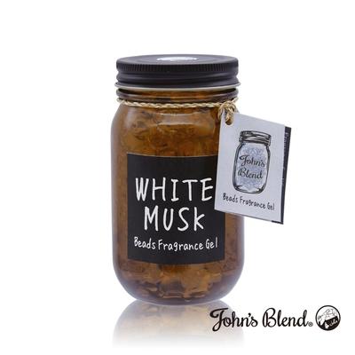 John s Blend 室內水晶香氛擴香罐-白麝香