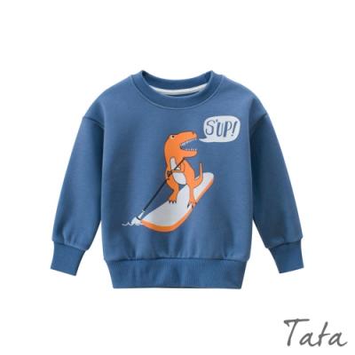 童裝 恐龍滑水印花上衣 TATA KIDS