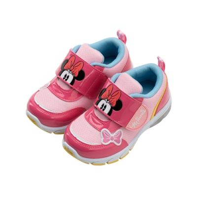 迪士尼童鞋  米妮  童段電燈運動鞋-桃