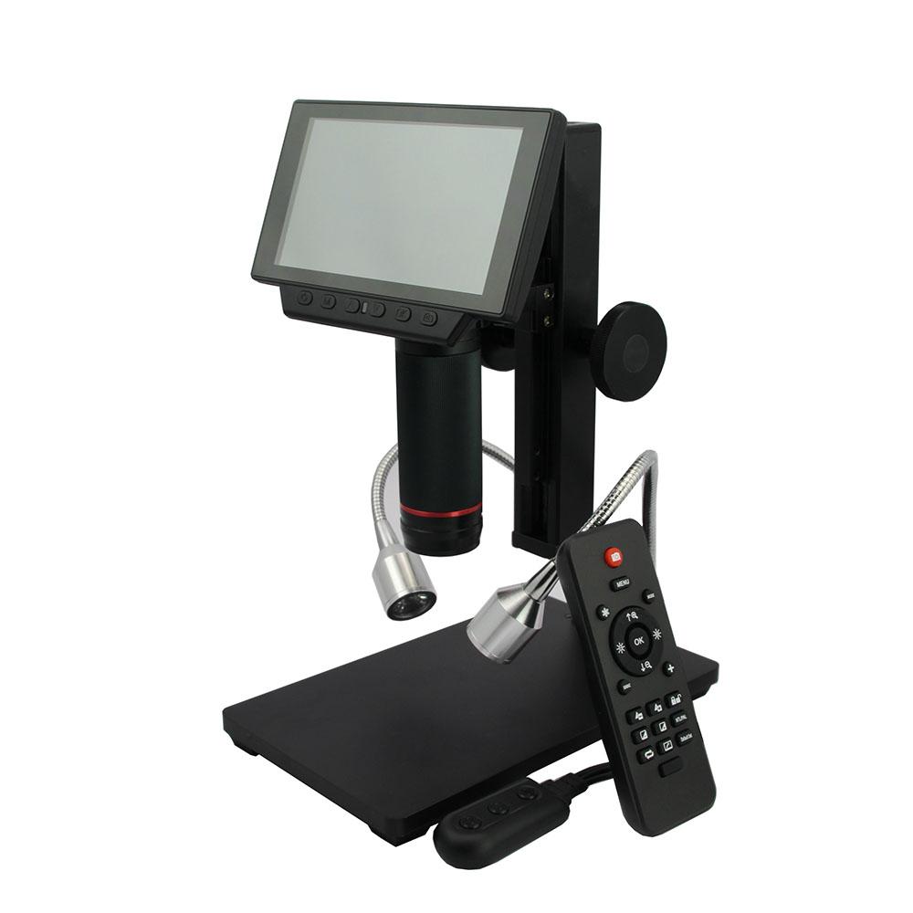 Andonstar 5吋螢幕/USB/HDMI 三輸出數位電子顯微鏡(ADSM302)