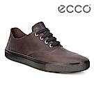 ECCO KYLE 超柔軟牛皮兩穿懶人鞋 男-深褐