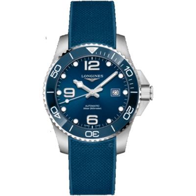 LONGINES浪琴深海征服者陶瓷潛水機械錶(L37824969)-藍