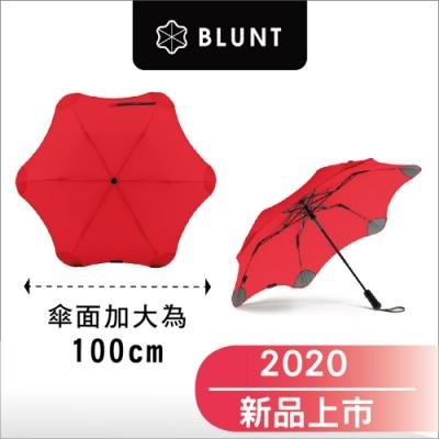 預購88折_2020 新款_ Blunt _Metro 紐西蘭保蘭特_直傘半自動折傘- 加大傘面-動感紅【8/17 出貨】