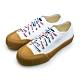 KangaROOS 帆布厚底餅乾鞋 CRUST 藍標袋鼠鞋系列 米棕 91279 product thumbnail 1
