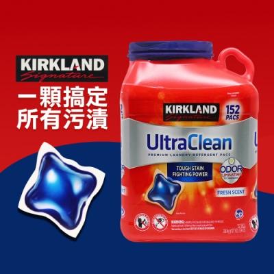 Kirkland Signature 科克蘭 強效清潔洗衣膠囊 清新香味(152顆)