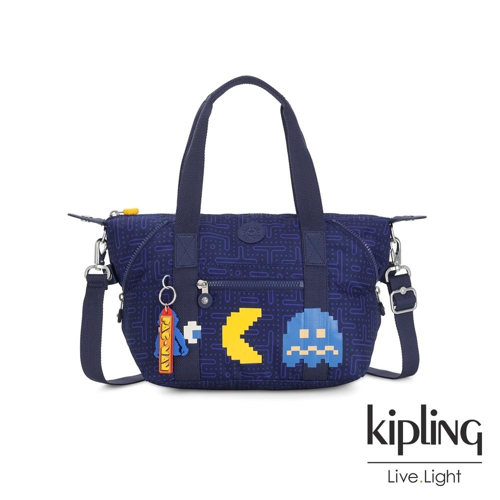 Kipling PAC-MAN限量系列 手提側背包-ART MINI