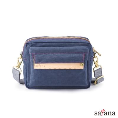 satana - Soldier 隨行斜肩包/腰包 - 礦青藍