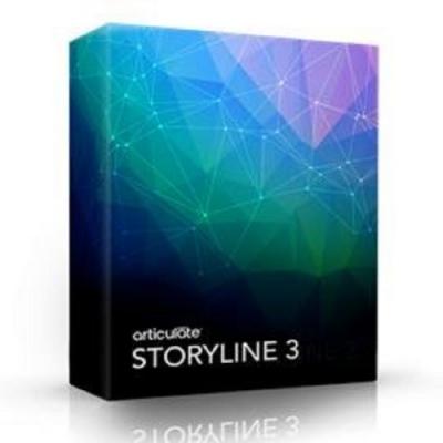 Articulate Storyline 3 (數位課程製作) 單機版