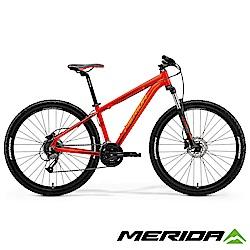 (無卡分期-12期)《MERIDA》中大輪徑越野登山車Big.Seven 40-D橘2018