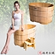 【雅典木桶】緬甸 特級檜木 完美工藝  長90CM 檜木 泡澡桶 product thumbnail 1