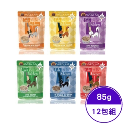 Cats-in-the-Kitchen凱特美廚貓咪無穀主食餐包85G-12包組