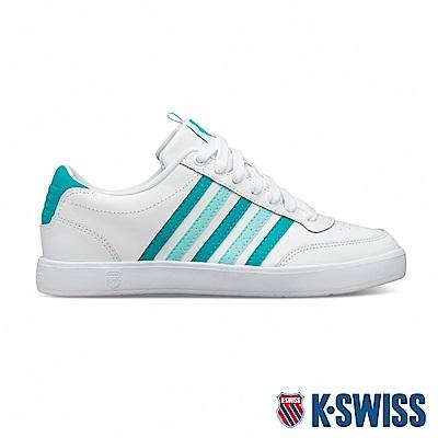 K-SWISS Court Lite CMF時尚運動鞋-女-白/綠