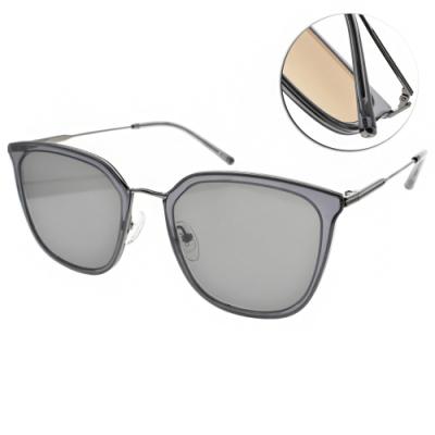 CARIN 太陽眼鏡  迷人簡約蝶形款/透藍-槍黑-綠鏡片 #O'NEILL MORE C3