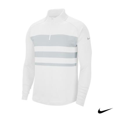 Nike 男 1/2拉鍊長袖上衣 白 BV0391-100