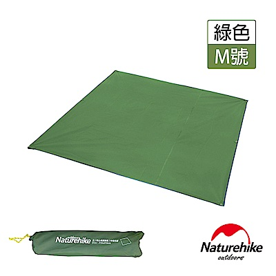 Naturehike 戶外6孔帳篷地席 天幕帳布 M號 3-4人 軍綠