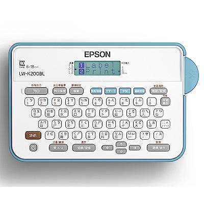 [時時樂限定]EPSON LW-K200BL 輕巧經典款標籤機