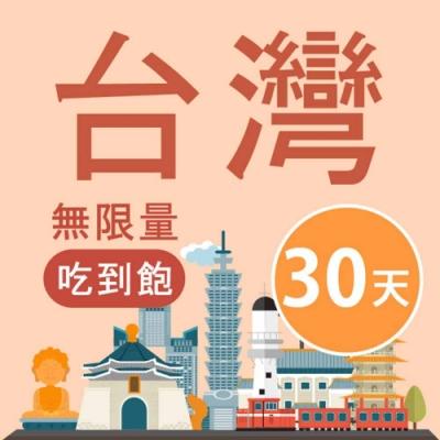 【Smart Go】台灣 網卡 30天 4G 不降速 上網 吃到飽 上網 SIM卡