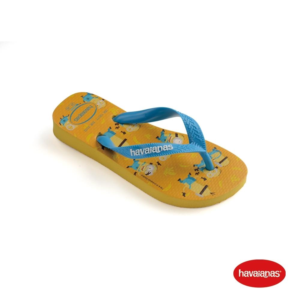 Havaianas 哈瓦仕 拖鞋 夾腳拖 人字拖 巴西 童鞋 兒童 金黃 4133167-0776K Kids Minions 小小兵