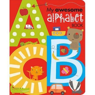 My Awesome Alphabet Book 我的英文字母造型書