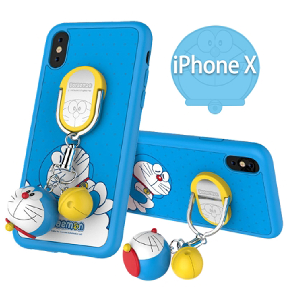 iStyle iPhone X/XS 5.8吋 哆啦A夢藍色款手機殼 @ Y!購物