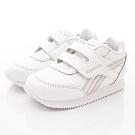 Reebok頂級童鞋 皮質炫銀邊飾運動鞋款 NI022白(寶寶段)