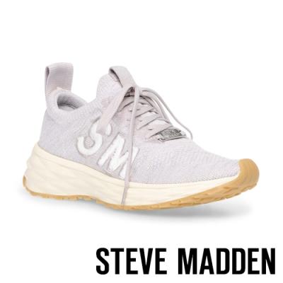 STEVE MADDEN-DELITE 品牌透氣增高運動休閒女鞋-灰色