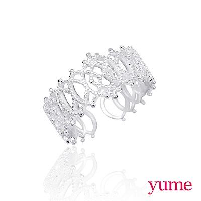 YUME 古典蕾絲戒指(925純銀)