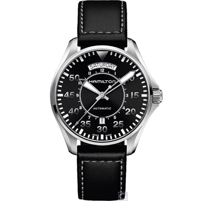 Hamilton Khaki Aviation 航空軍用飛行機械錶(H64615735)