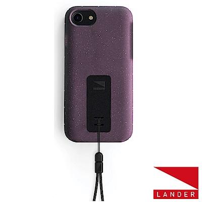 美國 Lander iPhone 8 / 7 Moab 防摔手機保護殼 - 紫(附手繩)