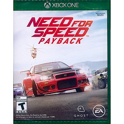 極速快感:血債血償 Need for Speed -XBOX ONE 中英文美版