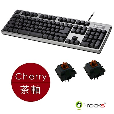 i-Rocks K68MN機械鍵盤-Cherry茶軸