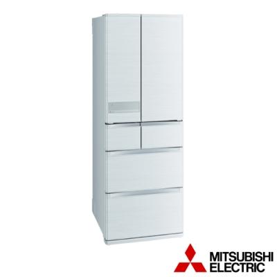 MITSUBISHI三菱 525公升六門變頻冰箱-絹絲白 MR-JX53C-W