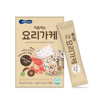 韓國 BEBECOOK 初食拌飯香鬆(奶油香菇鮮蝦)