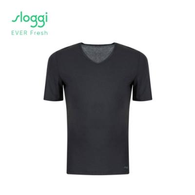 sloggi EVER Fresh系列 男士短袖內著上衣 經典黑 Y90-447 04