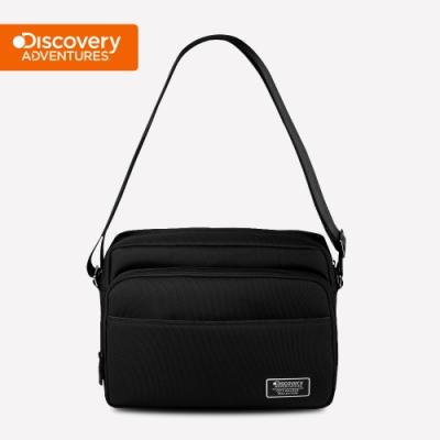 【Discovery Adventures】City多功能郵差包(大)-黑色