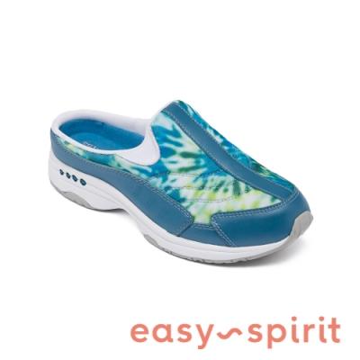 Easy Spirit-seTRAVELTIME450 舒適渲染懶人休閒拖鞋-藍色