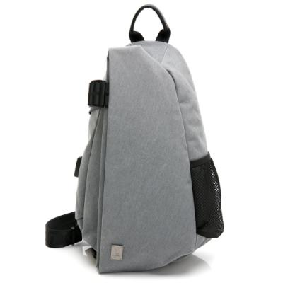 PLAYBOY- 單肩背包 Function系列-灰色